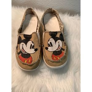 Mickey Mouse Croc Slips Ons